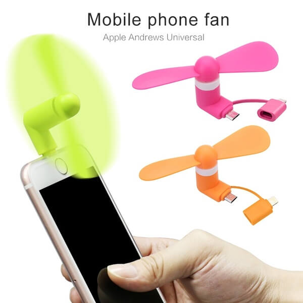 USB phone fan