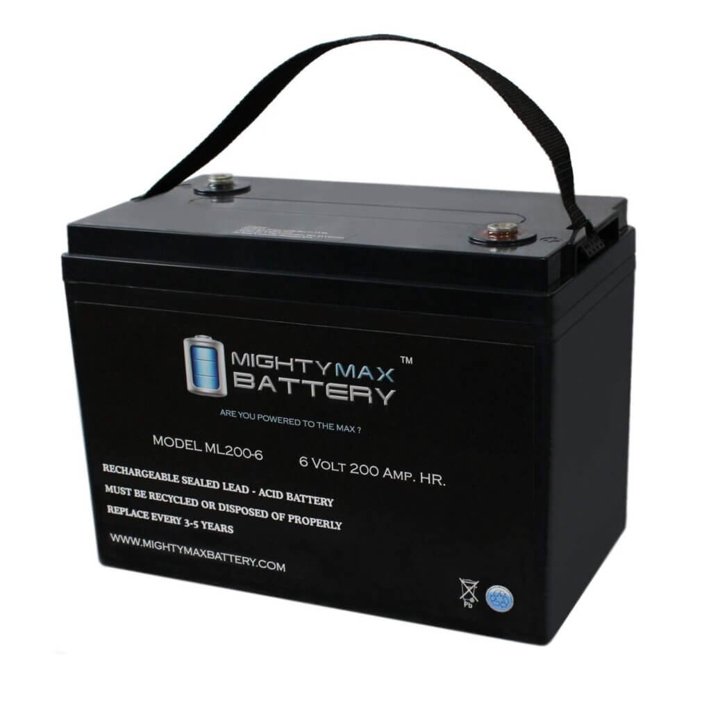 Mighty Max Agm Golf Cart Battery