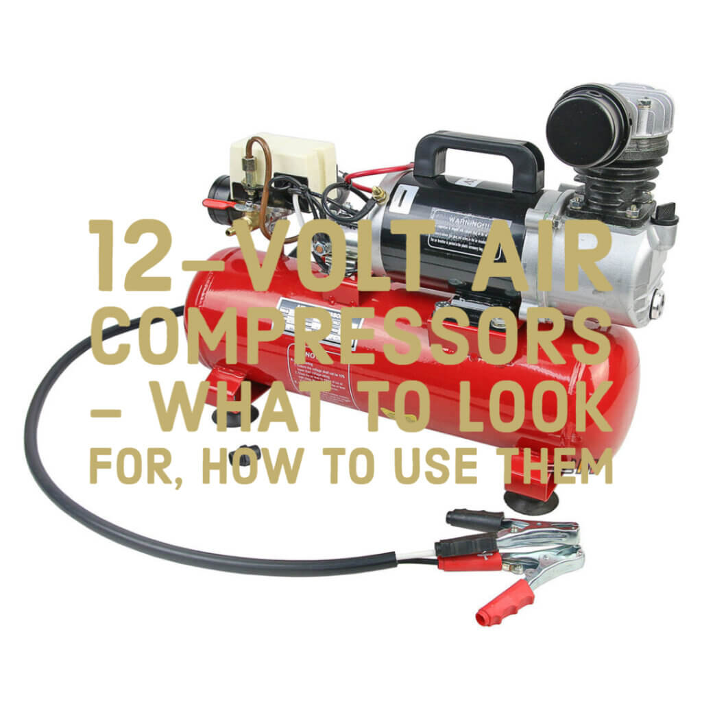 12-volt air compressors